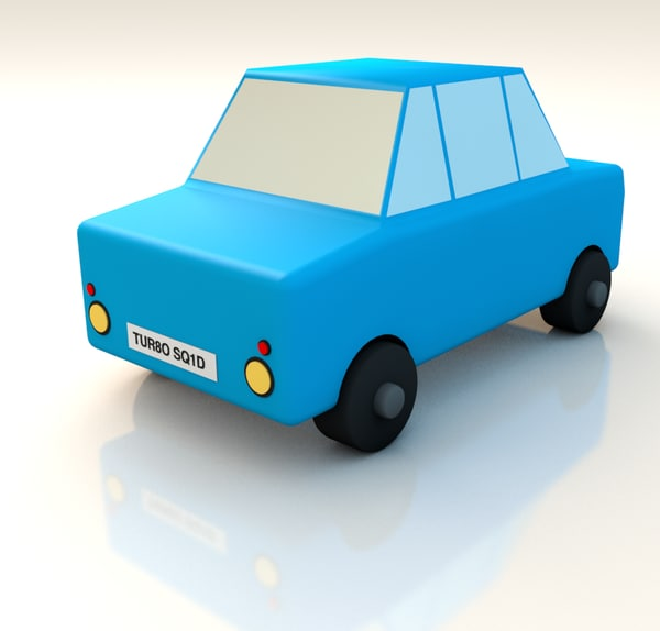 cinema4d toy car
