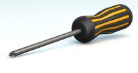 screwdriver philips head c4d