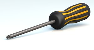 screwdriver philips head c4d