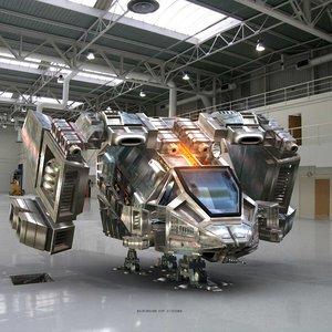 maya spaceship unit ship