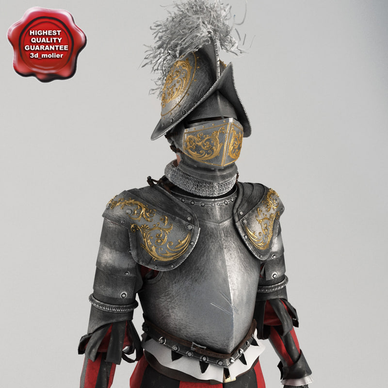 swiss guardsmen vatican knight 3ds