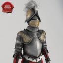 vatican knight 3D models