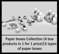 paper box 3ds