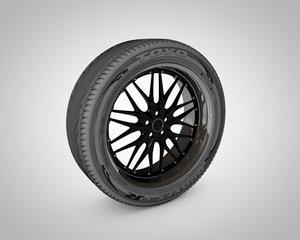 wheel toyo proxes 3d c4d