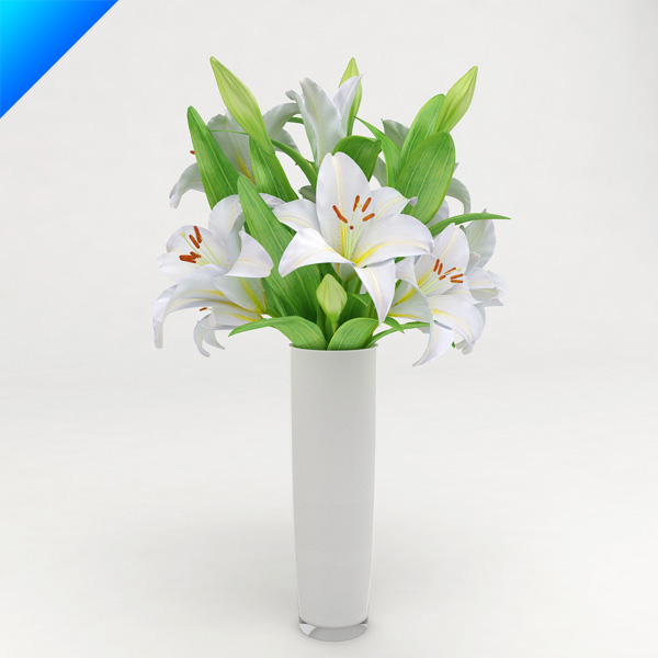 3d flower arrangement design