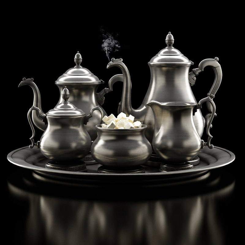 3ds max antique service set