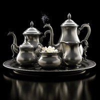 Antique coffee set Service