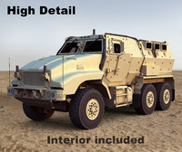 Caiman v1 mrap vehicle