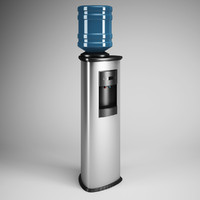 CGAxis Standing Water Dispenser 18