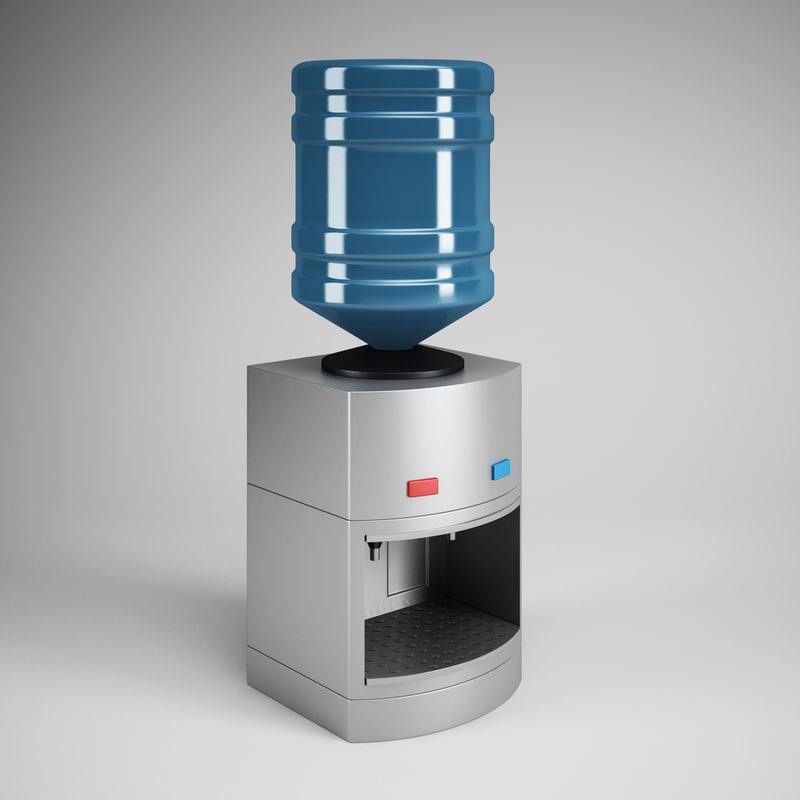 3dsmax water dispenser 19