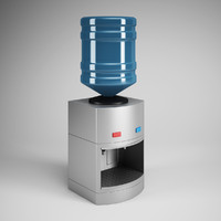 CGAxis Water Dispenser 19