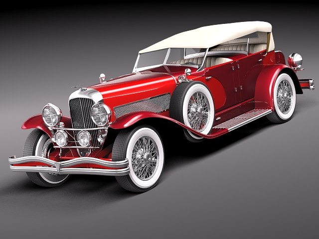 duesenberg sj convertible luxury x