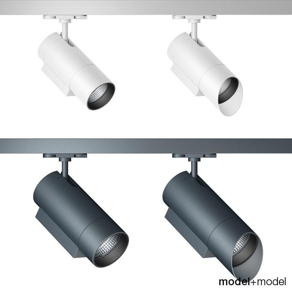 3ds max zumtobel track spotlight lights