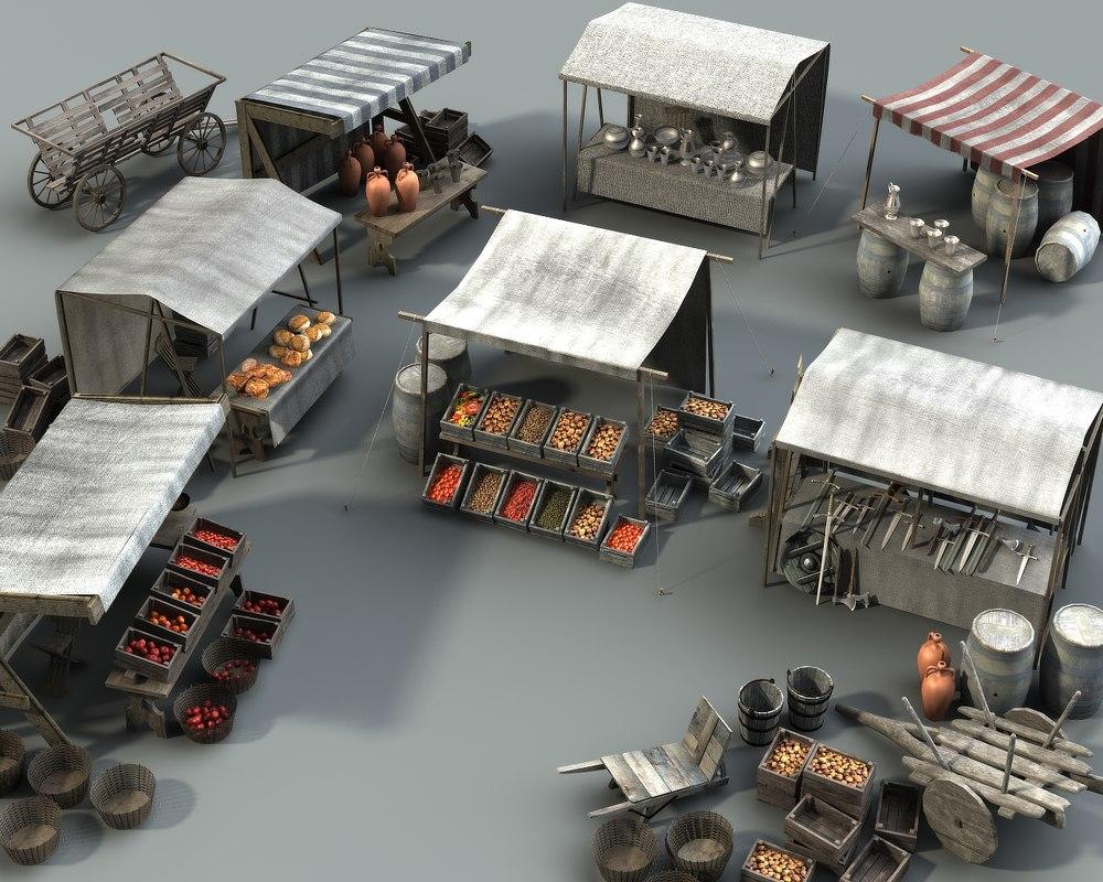 3d model marketplace items 3 version