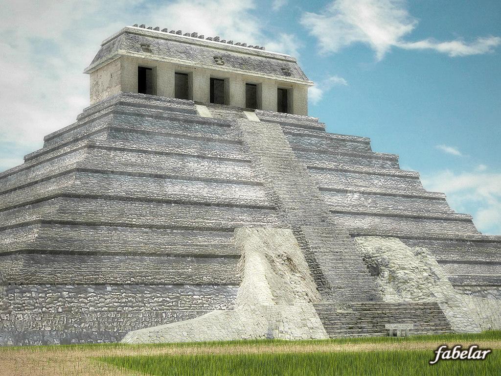 3dsmax building palenque