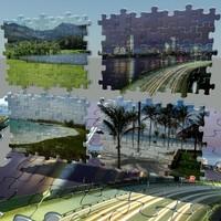 puzzle pieces 3d model