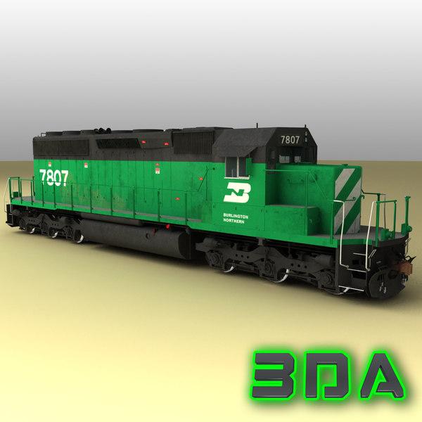 emd sd40-2 engines bn max