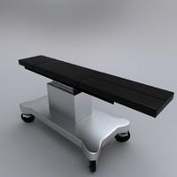 3d medical bed model