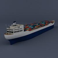 (Cargo) Container ship