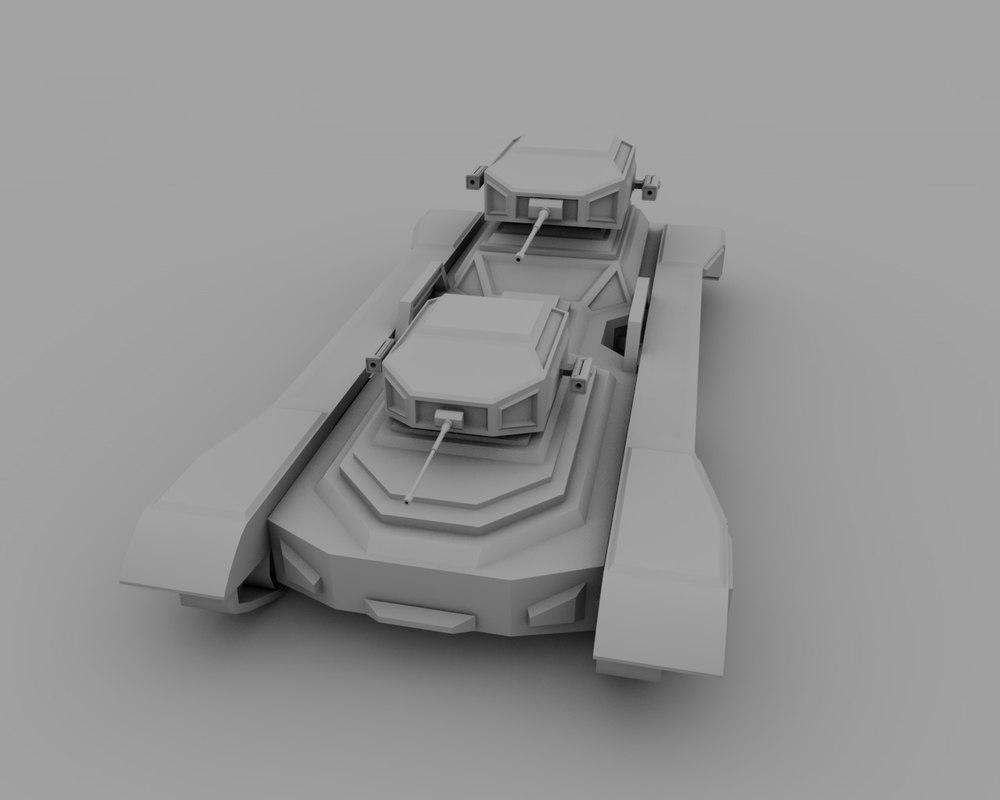 sci-fi fantasy tank 3ds
