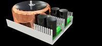 3d model cnc power supply