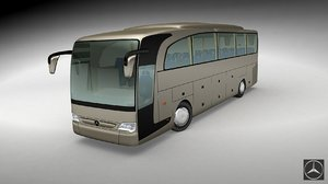 3d model mercedes benz travego