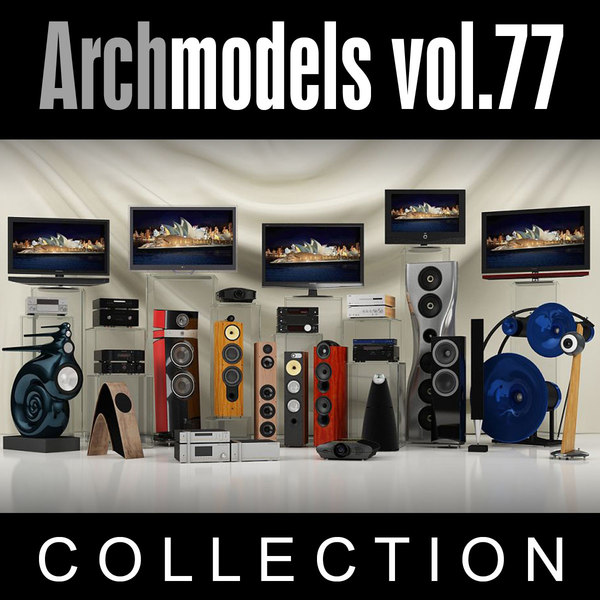 archmodels vol 77 3ds