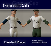 3ds max baseball player ball