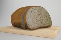 Bread and knife board