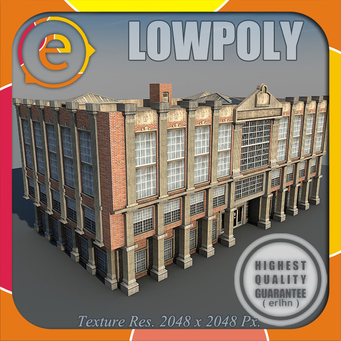 3d model tsq house buildings