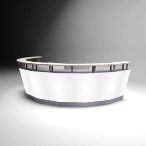 3d helf circle bar model