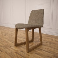 3d tiller chair model