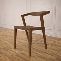 3dsmax urban chair