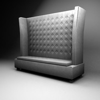 3ds max king sofa