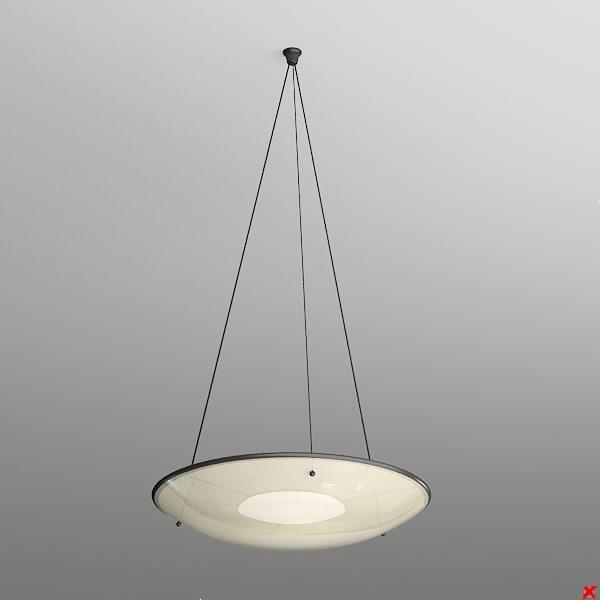 free 3ds model lamp hanging