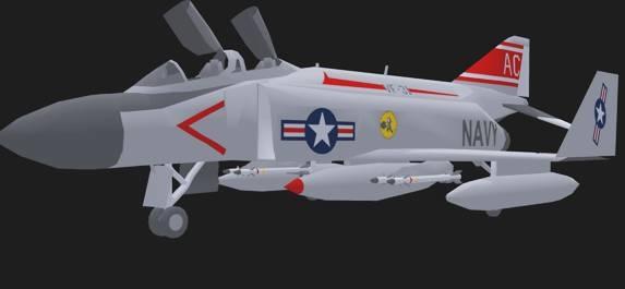 free vue mode navy fighter