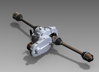 DSR Gearbox 3D CAD
