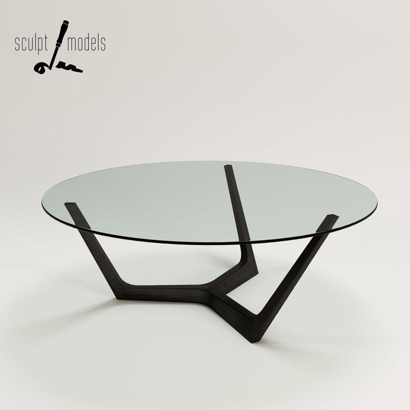 3d model atta coffee table