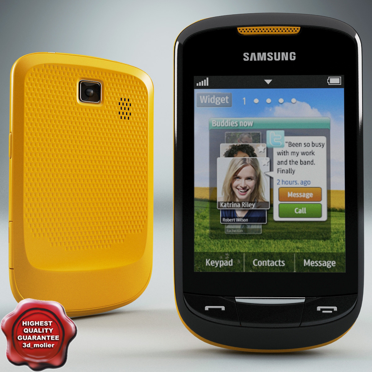 samsung s3850 corby ii 3d 3ds