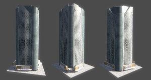 mori tower 3d model