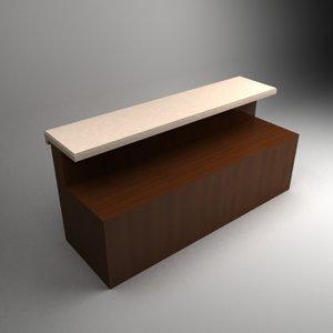 zilbershtaine bar 3d model