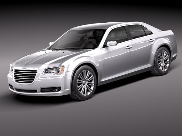 3d model chrysler 300c 300 c