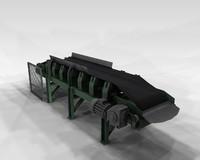 conveyor belt 3ds
