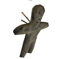 3d model of voodoo doll