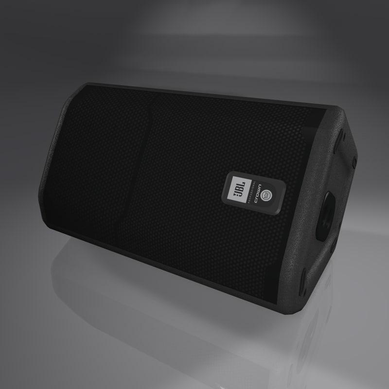 cinema4d speaker jbl prx612m