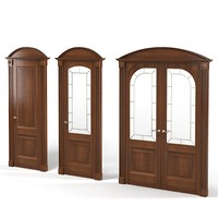 legnoform vezezia door single double glass tradirional  art deco classic