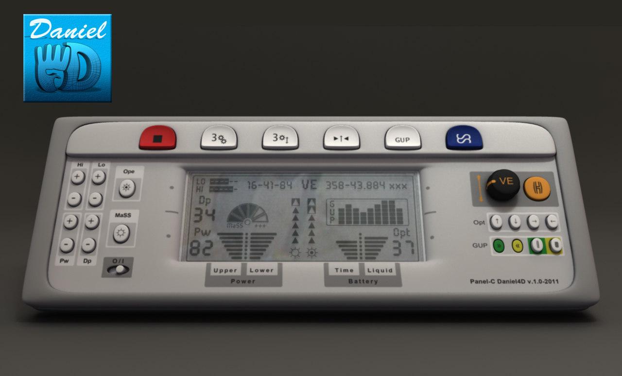 3d control panel electric