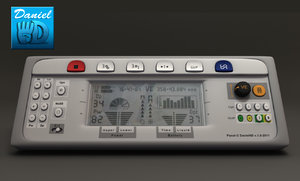 3d control panel electric