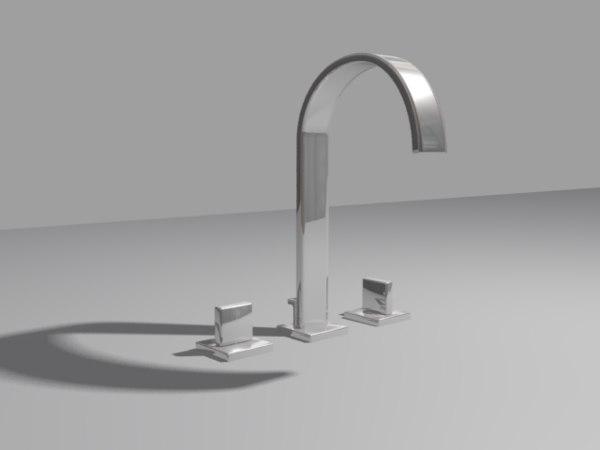 taps baths sinks 3d max