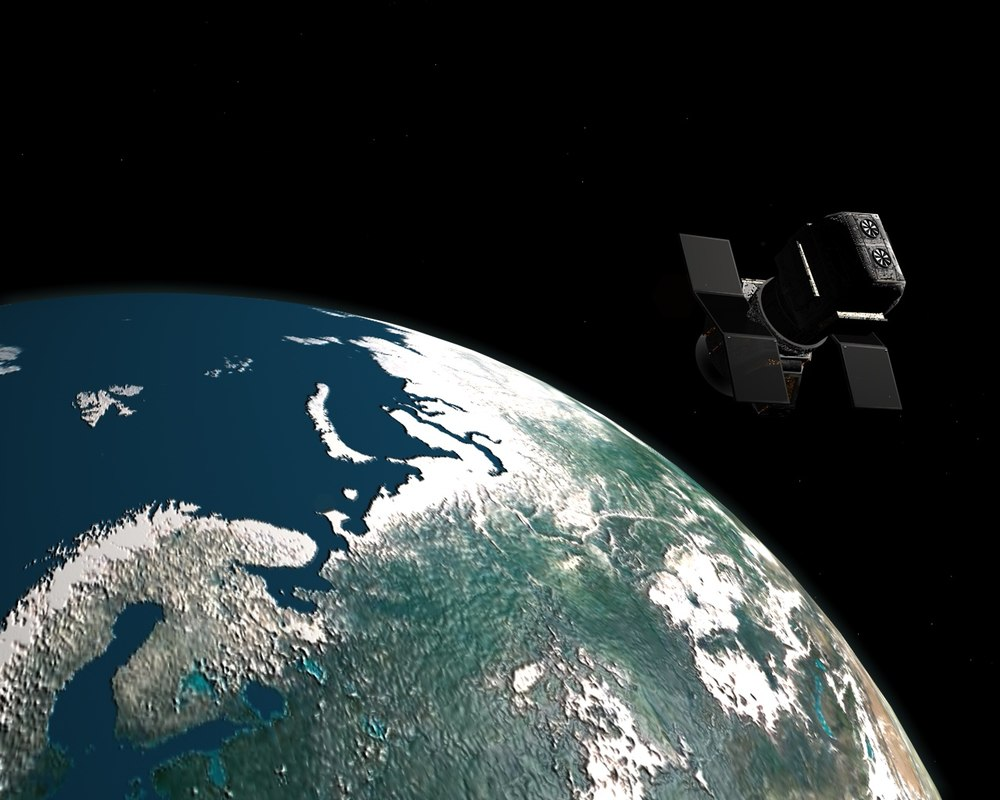 cinema4d satellite earth